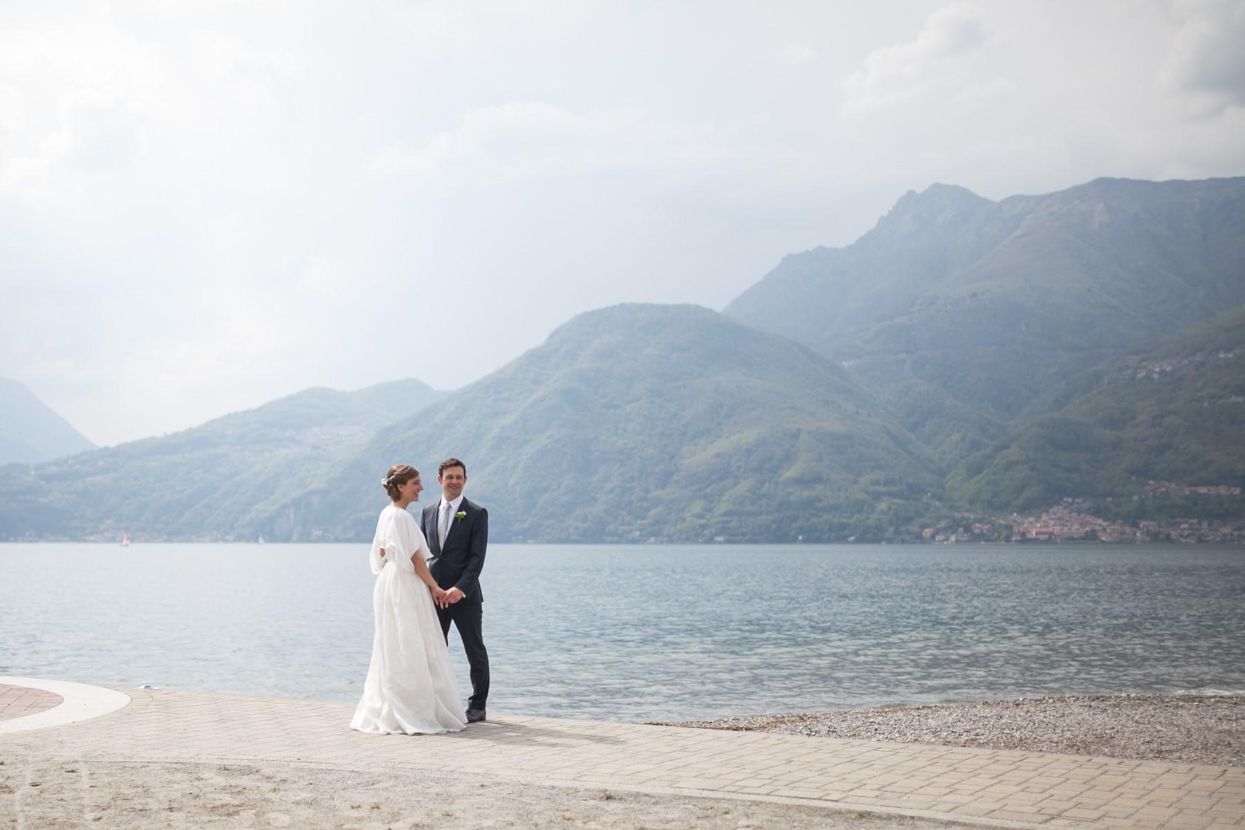 A Como Lake marriage